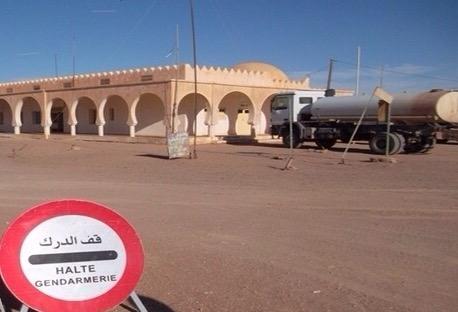 احد مسؤولي الدرك الموريتاني يتلقى تدريبا بالمغرب.