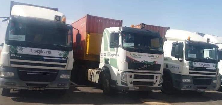 قافلة جزائرية باتجاه موريتاني.