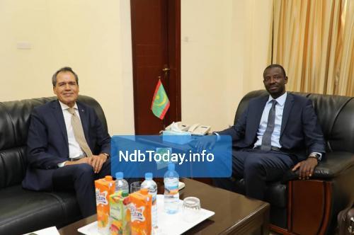 سفير المغرب بالمنطقة الحرة انواذيبو.
