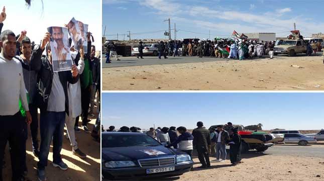 وفاة أحمد الخليل تأجج المخيمات