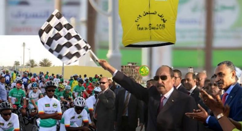 المغرب في المركز الثالثة في سباق الدراجات بموريتانيا.