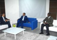 موريتانيا:وزير النقل يستقبل السفير المغربي.
