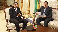 الرئيس الموريتاني يستقبل مبعوث قيادة البوليساريو