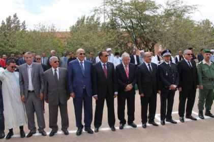 أمن ولاية العيون يخلد الذكرى 62 لتأسيس الأمن.