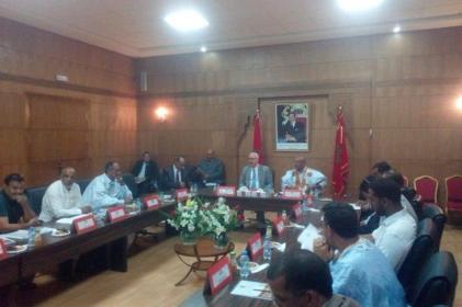 أعضاء المجلس الإقليمي بأوسرد يرفضون التصويت على ميزانية 2019.