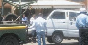 إيقاف سيارات للنقل السري تستعمل الغاز.