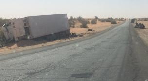 وفاة مواطن مغربي إثر حادثة سير بموريتانيا.