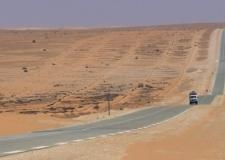 ثلاثة شاحنات مغربية تتسبب في غلق طريق نواكشوط  نواذيبو.