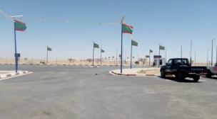 إفتتاح المعبر الحدودي بين موريتانيا و الجزائر.