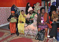 اعلان العيون للمنتدى الدولي للإبداع والقيادة النسائية الإفريقية.