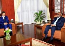 رئيس النيابة العامة يلتقي نائب رئيس الجمهورية السودانية وعدد من المسؤولين القضائيين