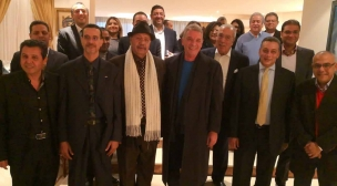 سفارة مصر بالمغرب تحتفي بالوفد المصري المشارك في مهرجان سينما المؤلف بالرباط.