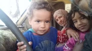 نداء اسرة صحراوية من ميجك تعاني وتطالب اللجوء.