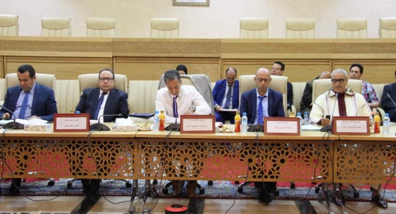 تأجيل دورة المجلس الإقليمي بكلميم بطلب من أعضائه.