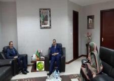 وزير خارجية موريتانيا يستقبل سفير المغرب،والولايات المتحدة،والصين.