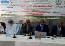 """ندوة مغاربية بموريتانياحول """"الإصلاحات الدستورية""""."""