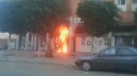 اندلاع حريق صباح اليوم بمنزل بساحة الدشيرة