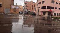 أمطار الخير بمدينة العيون