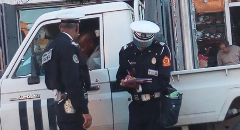 شرطة المرور بالعيون توقف موظف أممي يعمل ببعثة المينورسو