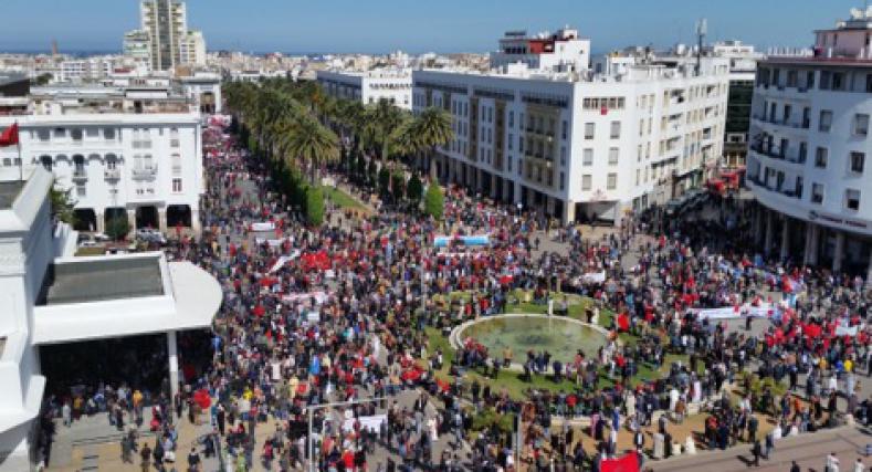 """احتجاجا على كي مُون .. الرباط تشهد أكبر """"موجة غضب"""" في تاريخها"""