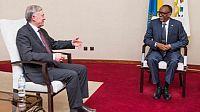 الرئيس الرواندي يستقبل المبعوث الشخصي للأمين العام الأممي إلى الصحراء.