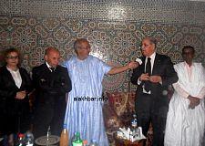 حفل لتوديع مراسل وكالة الأنباء المغربية بنواكشوط.