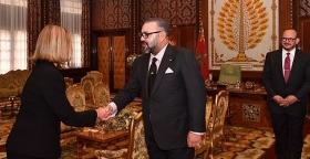 جلالة الملك يستقبل الممثلة السامية للاتحاد الأوروبي المكلفة بالشؤون الخارجية وسياسة الأمن.