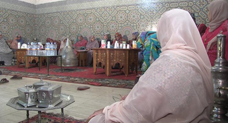 المركز الثقافي المغربي بموريتانيا ينظم أول صالون لنساء موريتانيا.