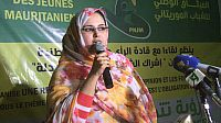 فالة منت ميني رئيسة حزب حوار تؤكد أن ولد عبد العزيز أسس لجمهورية ثالثة.
