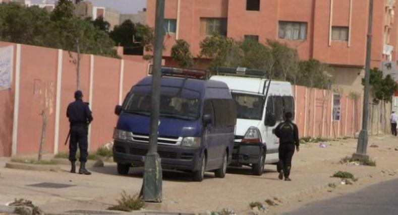 مجهولون يهاجمون ضابط شرطة بمدينة العيون.