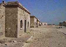 """العلم الموريتاني على منطقة """"لكويرة"""" خوفا من تعكير جو العلاقات المغربية الموريتانية من طرف الجبهة."""
