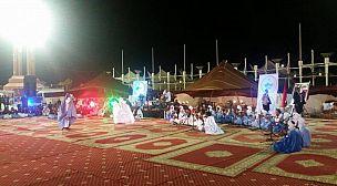 اختتام فعاليات مهرجان المديح النبوي بالعيون