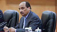 الرئيس الموريتاني ينفي نيته البقاء لمأمورية ثالثة،لكنه ينوي تغيير العلم.