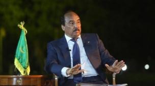 الرئيس الموريتاني يقطع الشك باليقين.