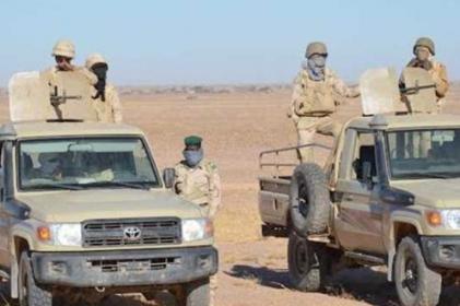 وحدة  من الجيش الموريتاني تتعرض لهجوم بمنطقة لمغيطي