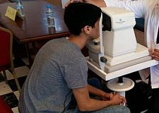 حملة طبية لفائدة تلاميذ العالم القروي. فم الواد نموذج