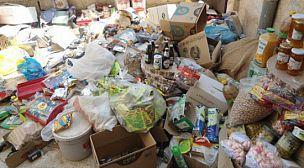 حجز  و إتلاف حوالي نصف طن من المواد الاستهلاكية المنتهية الصلاحية