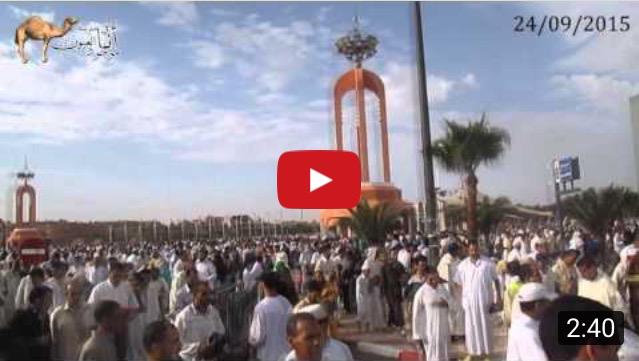أجواء صلاة العيد بمدينة العيون