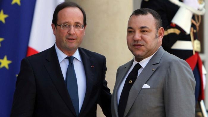 """العاهل المغربي يدين الهجمات """"الدامية"""" في باريس"""