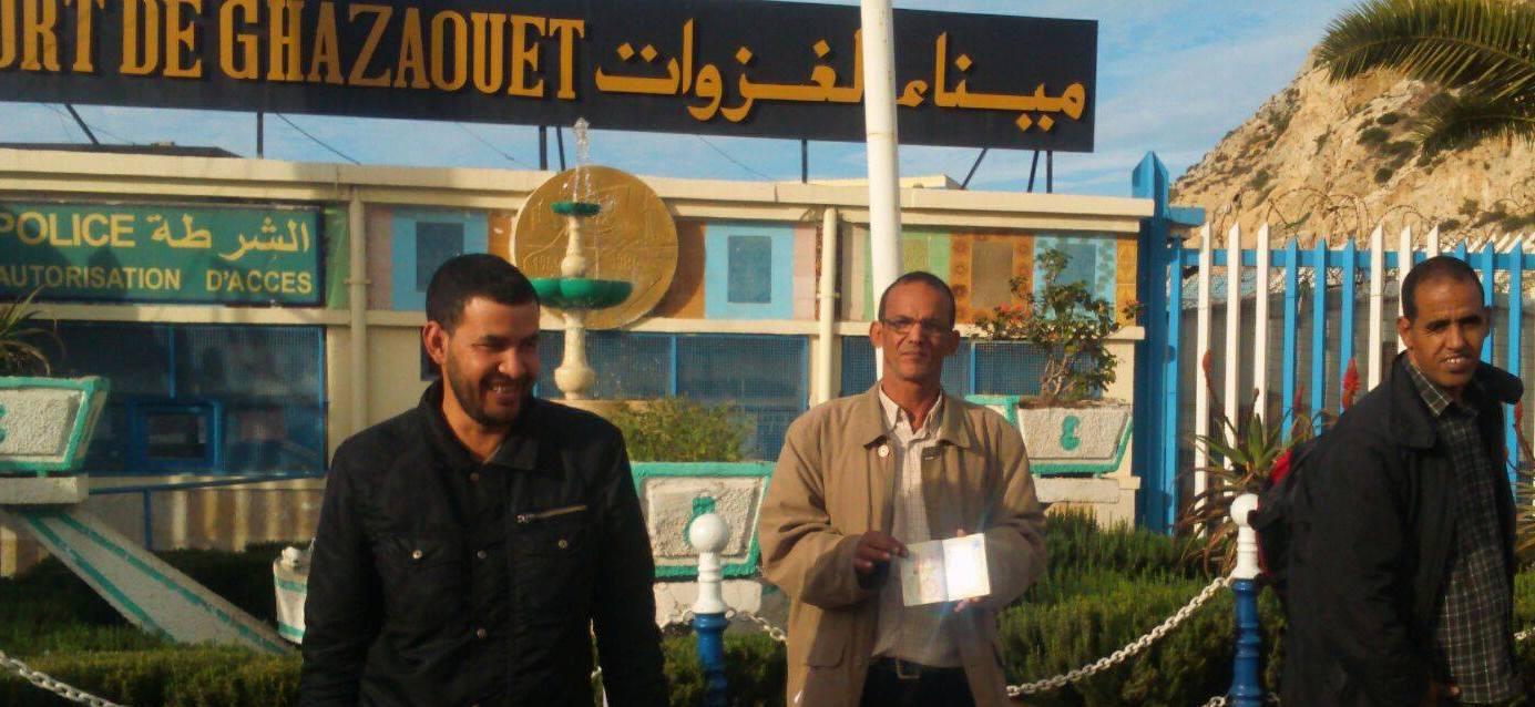 منع 11 لاجئ صحراوي من مغادرة ميناء الغزوات بالجزائر