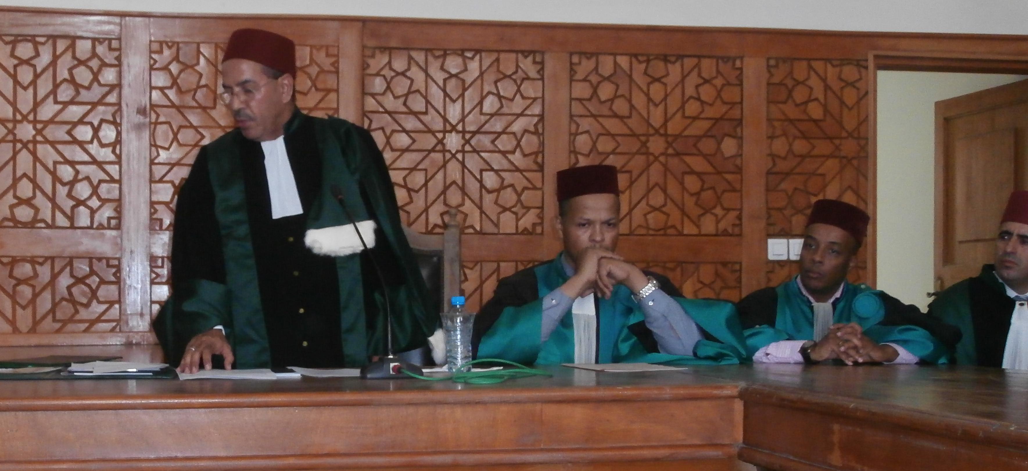 افتتاح السنة القضائية لسنة 2016 بمحكمة الاستئناف بالعيون