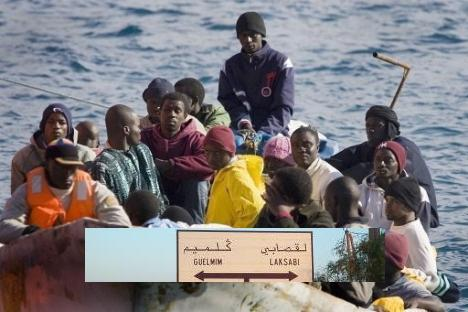إحباط أكبر عملية للهجرة السرية بمصب وادي درعة