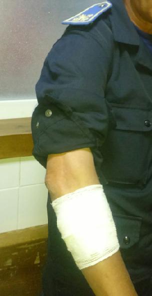 إصابات بين رجال الأمن و معطلين