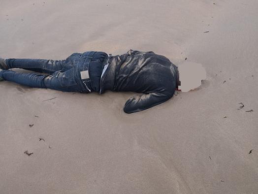 العثور على جثتين بسواحل طرفاية