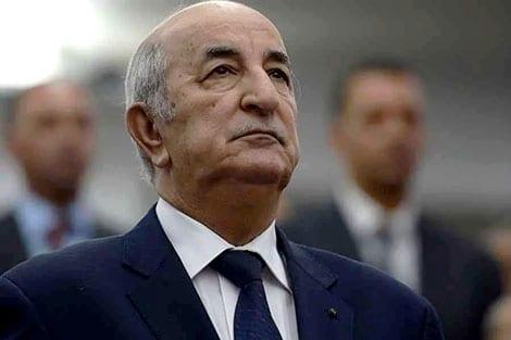 الرئيس الجزائري بمستشفى عين النعجة