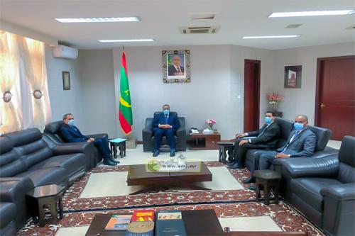 وزير خارجية موريتانيا يستقبل السفير المغربي