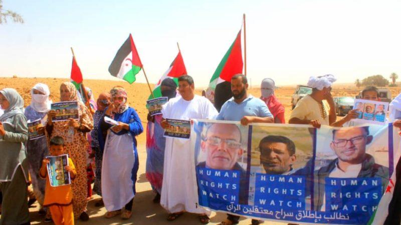 الجزائر تحت نيران صحراويين سيلجؤن للقضاء