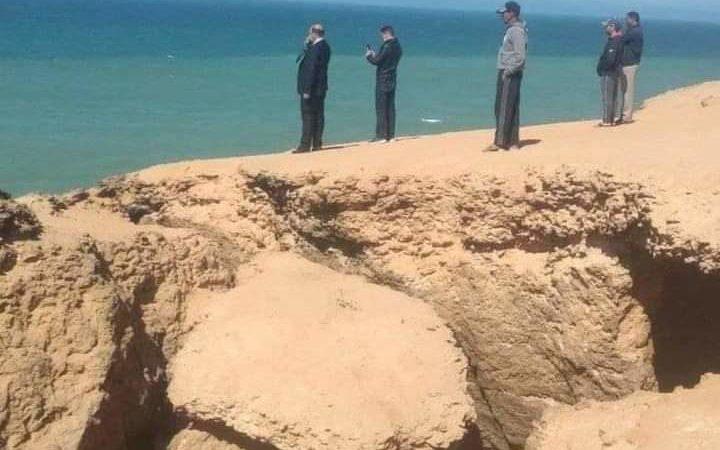 سواحل الداخلة بين جثث و تدخل البحرية الملكية