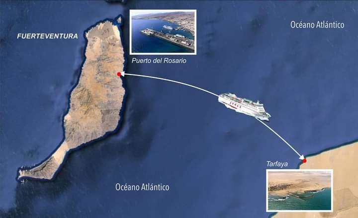 الخط البحري بين طرفاية وجزر الكناري سيعرف النور قريبا