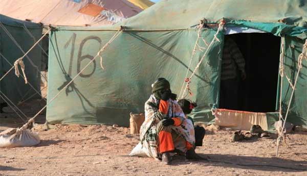 يوم عيد المرأة بالمخيمات بطعم ذكريات أليمة